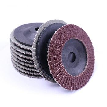 10X 100 мм 16 мм 80 зернистость заслонки колеса дисков угловая шлифовальная машина шлифовальный металлический шлифовальный станок