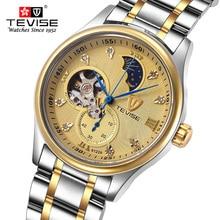 Спортивные Часы Мужчины Люксовый Бренд Moonphase Tourbillon Мужчины Военный Наручные Часы Мужской Механические Часы Relogio Masculino