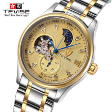 Deporte Relojes Hombres Marca de Lujo de Tourbillon Fase Lunar Hombres Del Ejército Militar Relojes de pulsera de Reloj Masculino Reloj Mecánico Del Relogio masculino