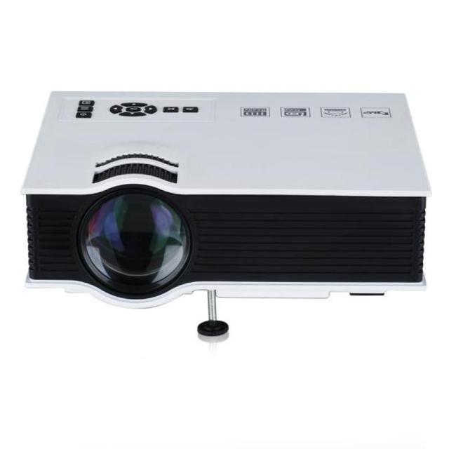 Лучшая цена 1800 lumens 1080 P HD из светодиодов мини-дом мультимедийный проектор жк-hdmi VGA USB SD играть