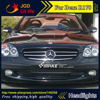 Auto Part Style LED Head Lamp for Benz R170 SLK320 SLK2 1996 2004 led headlights drl hid Bi Xenon Lens low beam