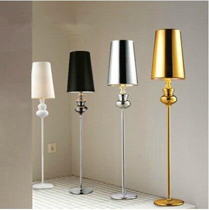 free shipping modern para quarto jaime hayon josephine floor lamp gold sliverblack - Gold Floor Lamp