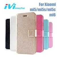 IVI Case For Xiaomi Mi6 Case Mi5 Mi5s Plus Mi5c Mi4 Mi4c Cover Luxury Matte Leather