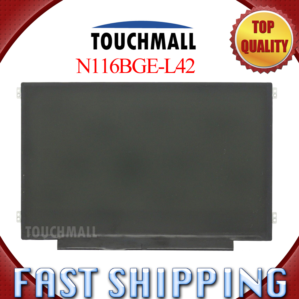 B116XW03 V.2 N116BGE-L42 For Acer Aspire One 722 725 1366x768 40 Pin Replacement 11.6 Slim Laptop LED LCD Screen