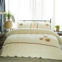 3 предмета фланель постельное белье King Размеры постельные принадлежности набор домашнего текстиля queen Размеры стеганое покрывало для крова