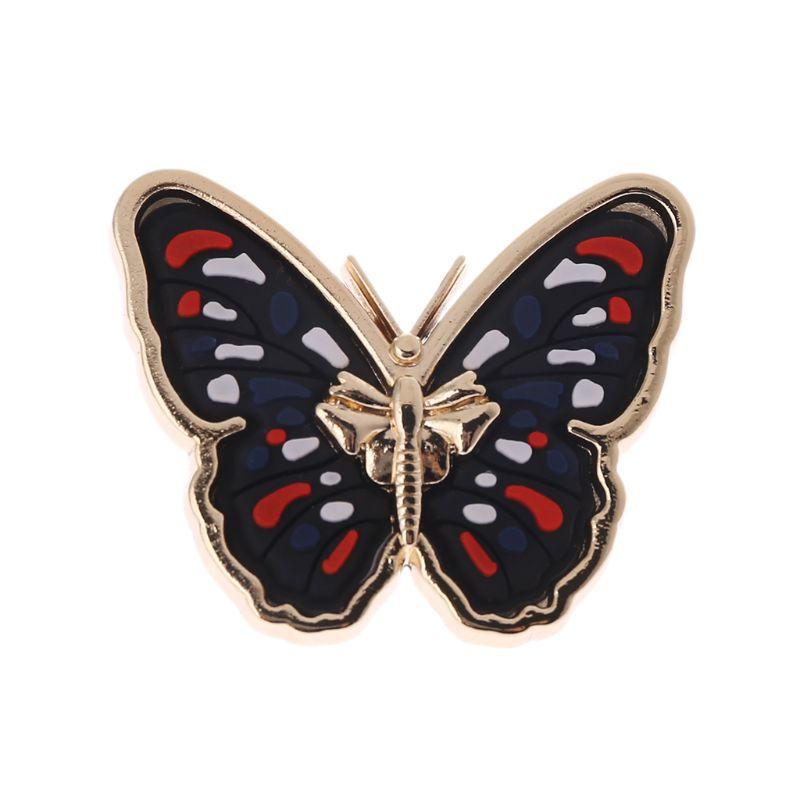 Colorful Butterfly Metal Bag Decoration For DIY Handbag Craft Shoulder Bag Hardware