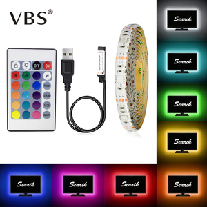 5V USB Power LED Strip RGB /White/Warm White Tira Led HDTV TV Desktop PC Screen Backlight & Bias Lighting 0.5CM 1M 2M 3M 4M 5M