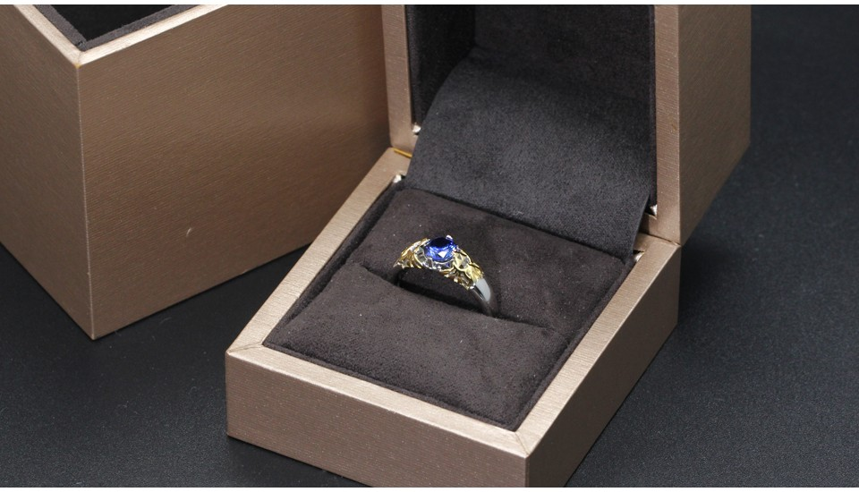 GZR0022-925S 0.8ct blue stone 2-tone gold (11)