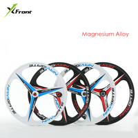 New brand MTB light weight magnesium alloy 3 blade one wheels 26 inches bicycle wheel mountain bike wheels