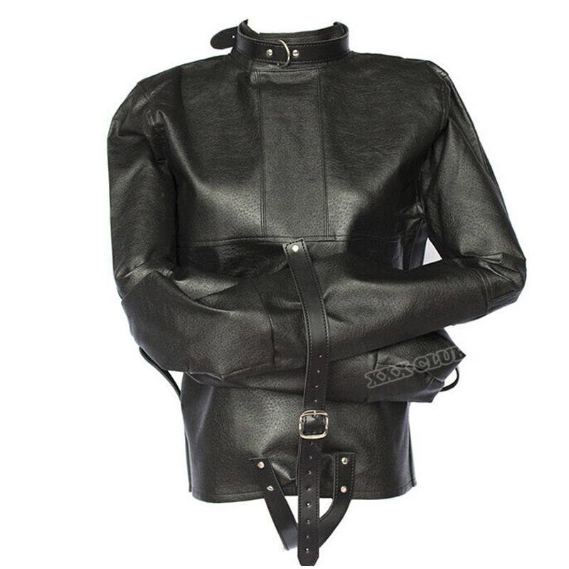 Adult sex game adjustable Bondage Jacket with Long Sleeves, Fetish costumes restraint straitjacket Sex Toys For Couple