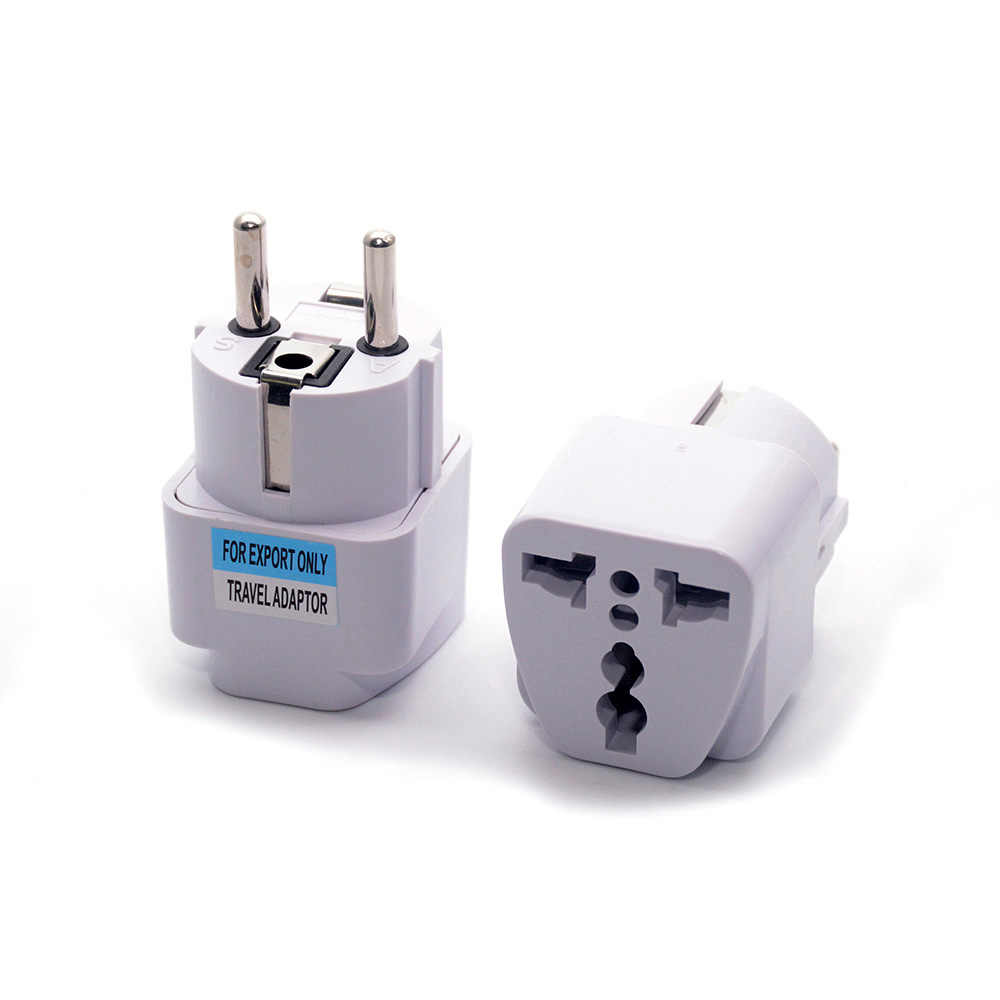 Groothandel Universal Eu Zuid-korea Plug Adapter Converter Us Au Uk Om Europese Kr Ac Travel Power Elektrische Socket Outlets