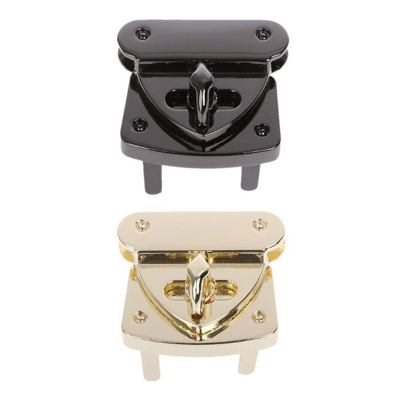 New Metal Clasp Turn Lock Twist Locks DIY Leather Handbag Bag Hardware Accessories