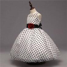 Elegant Polka Dot Princess Formal Dress