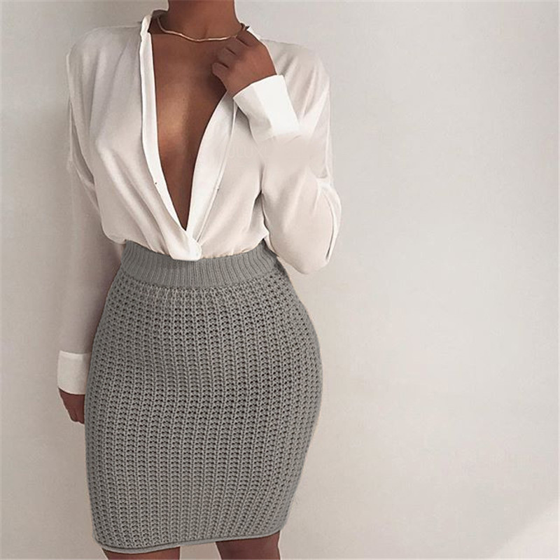 Popular Knitted Skirt-Buy Cheap Knitted Skirt lots from China ...