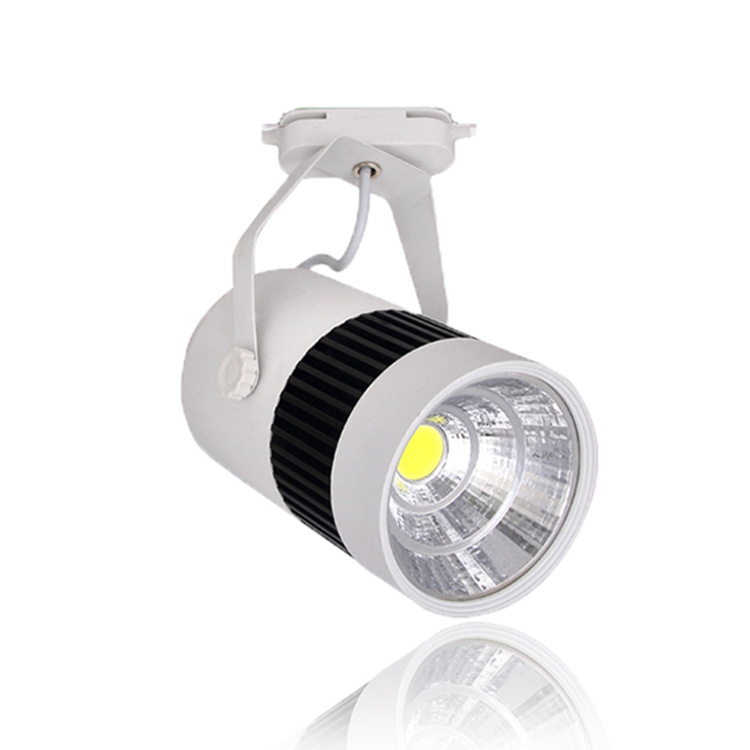 20W COB Led Track Light Clothing Store Spot Lighting Rail