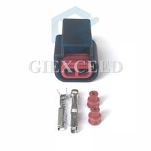 2 комплекта 2 Pin COP Альтернативная катушка на вилке карандаш катушки зажигания Авто Аудио разъем для Ford Focus Mondeo Kuga EPC E-4014 E4014