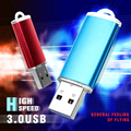 Caliente Venta USB Flash Drive de Metal Pendrive USB 3.0 de Alta Velocidad Capacidad Real Pen Drive Flash USB Logotipo Personalizado USB Stick 32 GB 16 GB