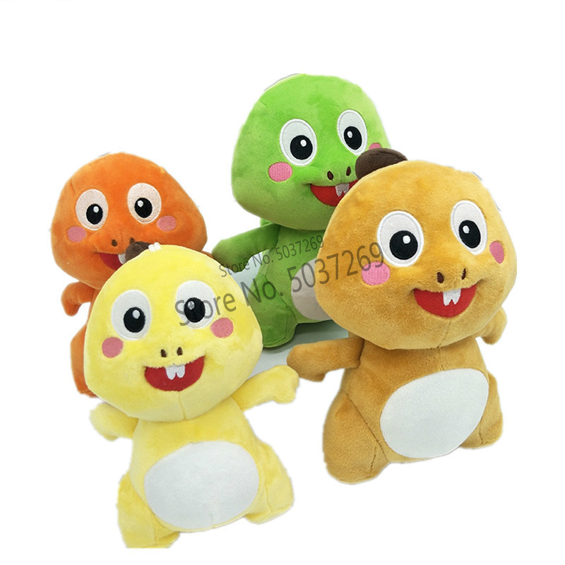 Kawaii 20cm VIPKID Stuffed Dino Baby Dinosaur Doll Plush Cute Soft Doll Original Plush Toy Doll Kids Birthday Christmas Gift