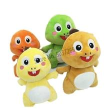 купить Kawaii 20cm VIPKID Stuffed Dino Baby Dinosaur Doll Plush Cute Soft Doll Original Plush Toy Doll Kids Birthday Christmas Gift по цене 455.27 рублей