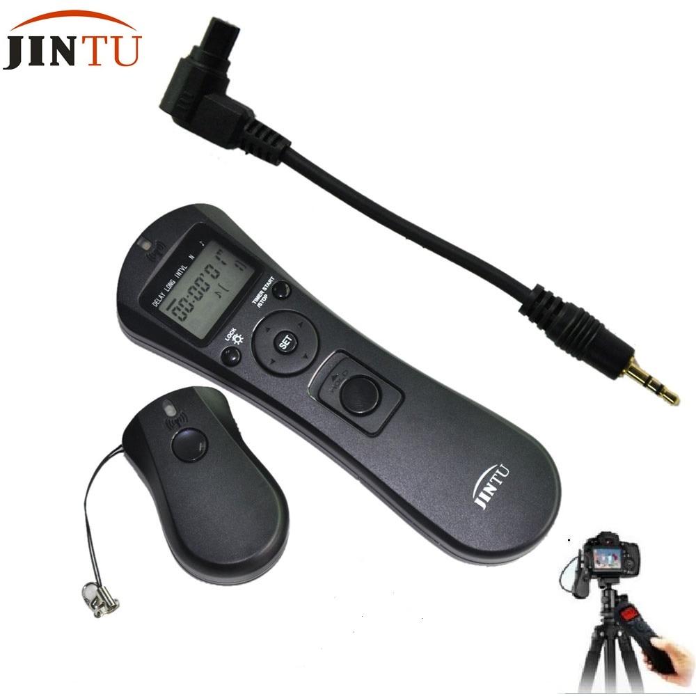 Cable disparador remoto disparador remoto adecuado para Canon EOS como rs-80n3