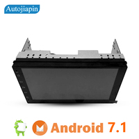 Autojiapin Slim 7 Inches Android 7 1 2G RAM Quad Core Car Multimedia Player GPS Navi