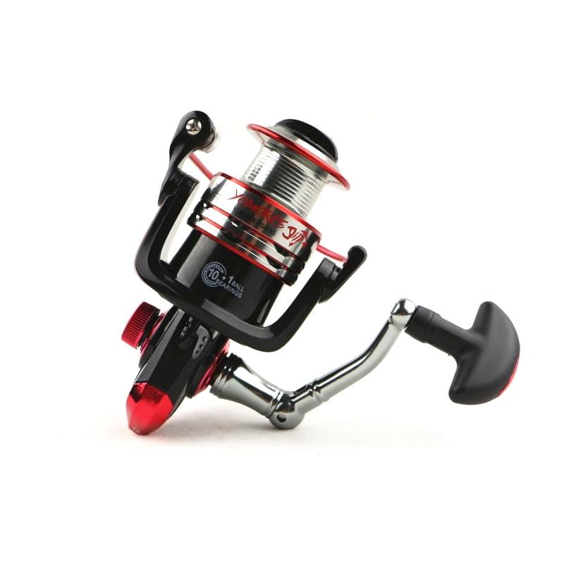 10 + 1BB 5.1: 1 Cilësi Spinning Peshkimi Reel Metal Spool Spel Reel - Peshkimi - Foto 2