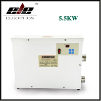 Eleoption 220V 5.5KW Electric Water Thermostat Heater for Swimming Pool & SPA Bathe