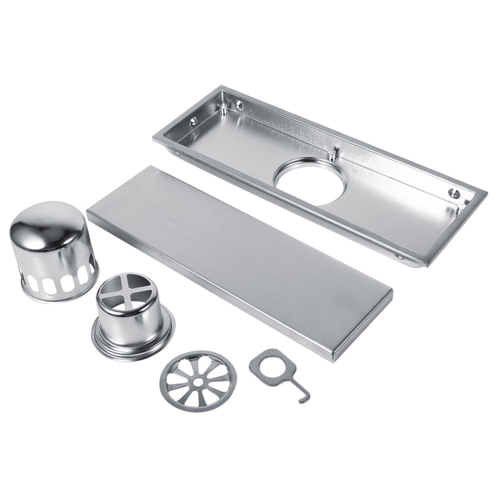 Vessel Sink Drain Floor Drains Stainless Linear Shower