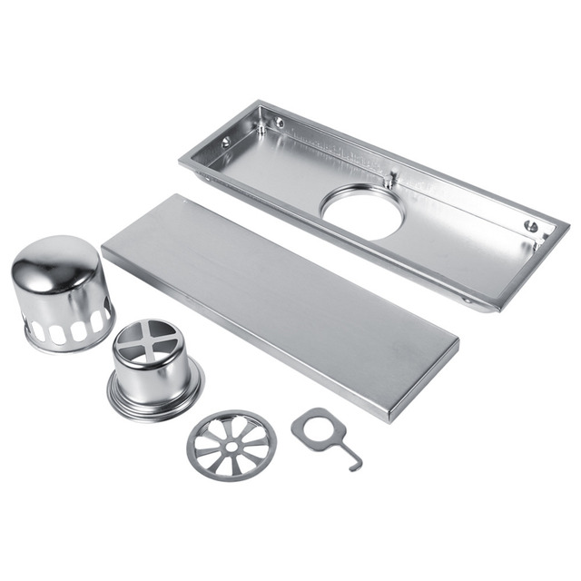Superbe Vessel Sink Drain Floor Drains Stainless Linear Shower Floor Drains Tile  Insert Drain Channel For Bathroom