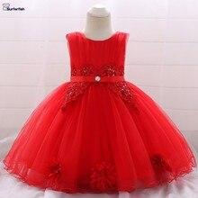 Surferfish/свадебное платье принцессы для маленьких девочек вечерние платья для детей, новогоднее праздничное платье на день рождения, кружевное платье на День святого Валентина