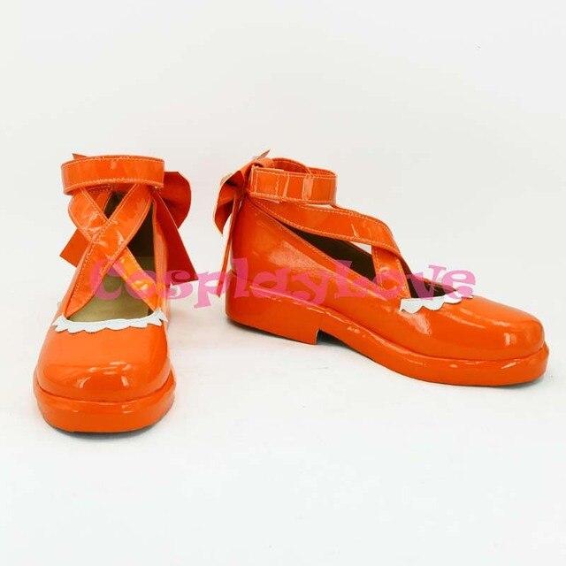 Newest Custom Made Japanese Anime Lovelive! Valentine's Day Maid Kousaka  Honoka Cosplay Shoes Long Boots
