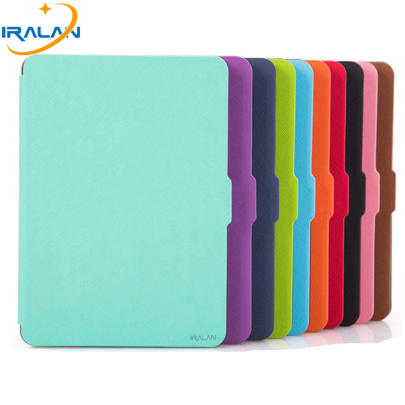 Slim Cover For Amazon Kindle Paperwhite 1/2/3 Ebook EReader Leather Case 6 inch For Kindle Paperwhite + Flim + Stylus kindle paperwhite 1 2 3 case e book cover tpu rear shell pu leather smart case for amazon kindle paperwhite 3 cover 6 stylus
