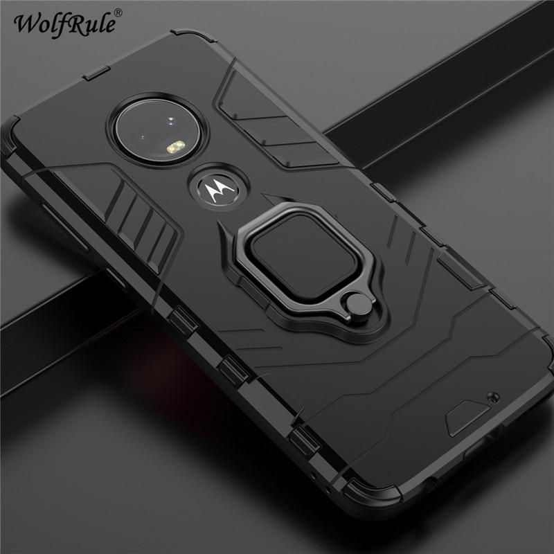 Holder Magnetic Case For Motorola Moto G7 Plus Case Durable Metal Ring Stand Case For Motorola Moto G7 Plus G7 Cover For Moto G7 Phone Case Covers Aliexpress