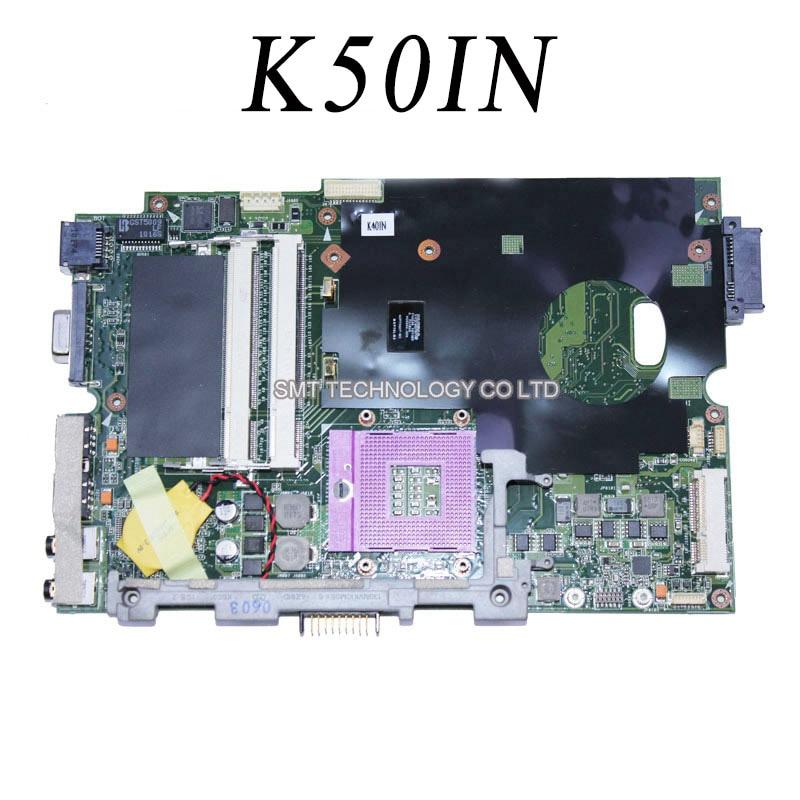 все цены на  k50i K50IN K40IN laptop motherboard for Asus Fullly Tested 45 Days Warranty  онлайн