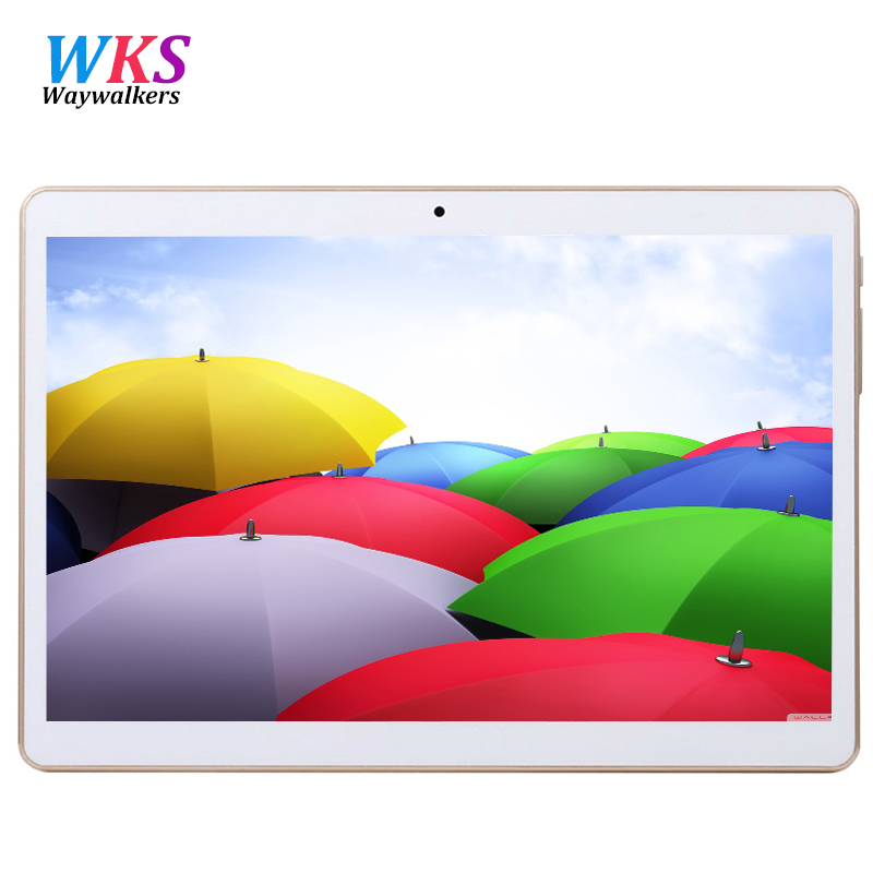 10 inch tablet pc Octa Core 3G 4G LTE Tablets Android 7.0 RAM 4GB ROM 64GB Dual SIM Bluetooth GPS Tablets 10.1 inch tablets pcs created x8s 8 ips octa core android 4 4 3g tablet pc w 1gb ram 16gb rom dual sim uk plug