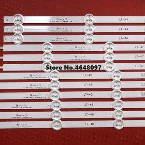 Image 4 - חדש חלק 12 יח\סט LED רצועת תחליף מושלם עבור LG47 אינץ LC470DU 47LN5200 47LN5400 47LN5700 47LN5750 47LN5700