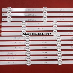 Image 4 - New Part 12 PCS/set LED Strip perfect Replacement for LG47 Inch LC470DU 47LN5200 47LN5400 47LN5700 47LN5750 47LN5700
