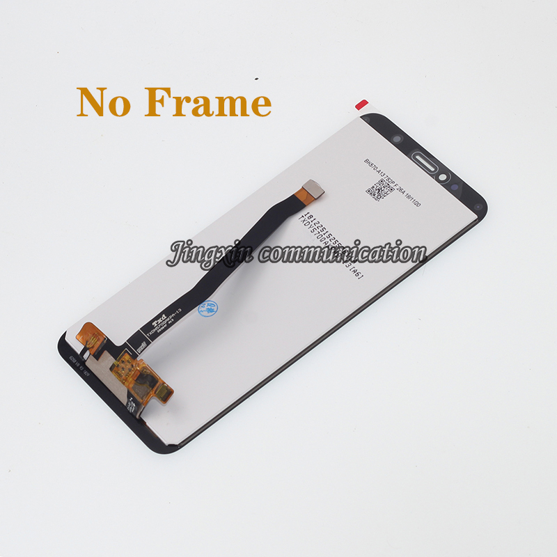 """Image 2 - New with frame 5.7"""" LCD monitor For Huawei honor 7C Aum L41 LCD display + touch screen mobile phone screen repair parts-in Mobile Phone LCD Screens from Cellphones & Telecommunications"""
