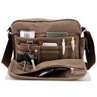 New 2014 Men S Messenger Bags High Quality Canvas Multifunction Shoulder Bag For Men Travel Business