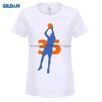 Dildan дешевые футболки онлайн хип-хоп Кевин Дюрант KD Письмо Марка Дешевые Базовая футболка рубашка с коротким рукавом женская черная