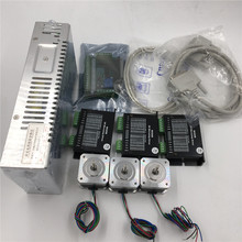 39oz.in 3 Axis Stepper Motor Kit Nema17 + Power Supply +5Axis Breakout Board for 3D Printer 3 Axis Kit
