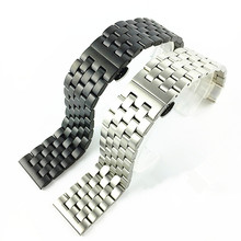 Watchband Quality Solid Stainless steel Watch band For Men 18 20 22 24mm  Steel Bracelet  watch band  watches все цены