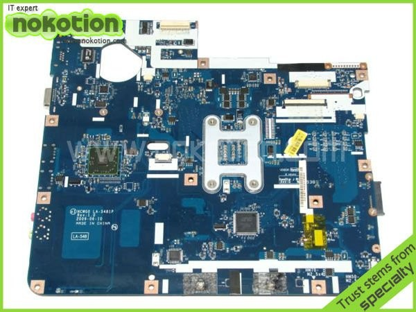 NOKOTION LA-5481P laptop motherboard for Acer aspire 5516 5517 5532 MBPGY02001 MB.PGY02.001 DDR2 Free CPU Mainboard 2x new h7 80w high power led car auto driving fog tail headlight light lamp bulb white 12v