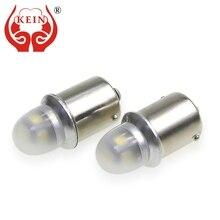цена на KEIN 6PCS P21W 1156 P21/5W LED CAR Bulb ba15s 1157 bay15d Reverse Brake Turn Signal Lamp Bulb Light 12V white red yellow DRL S25