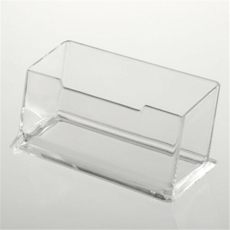 1pcs New Clear Desk Shelf Box storage Display Stand Acrylic ...