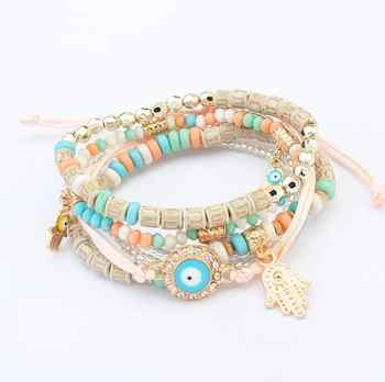 Poem snow Resin Handwear Fashion Girl Palm Bracelet - DISCOUNT ITEM  0% OFF All Category