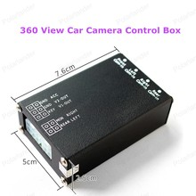 hot sell Back UP Rear View Cameras 360 View Car Camera Control Box 4 Way Cameras Switch System