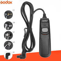Godox RC-C1/C3/N1/N3/S1 DSLR Remote Control Cord Camera Shutter Release Cable for Canon Nikon Sony