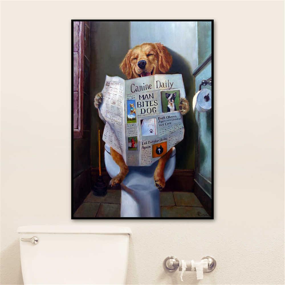 Cute Posters And Prints Bathroom Room Decor Wall Art Prints