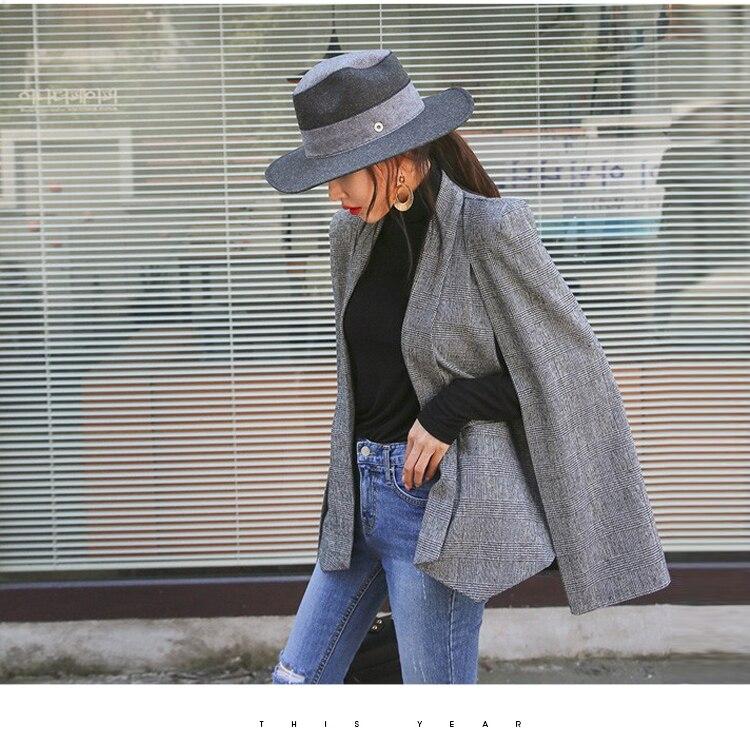 Дизайнерский пиджак SMTHMA, Высокое качество, клубный пиджак- накидка в европейском стиле